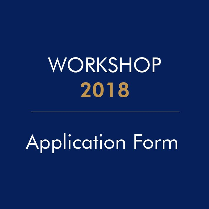 Workshop 2018 Application Form