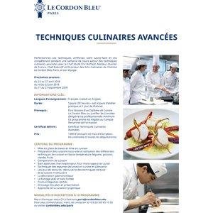 Techniques Culinaires Avancées