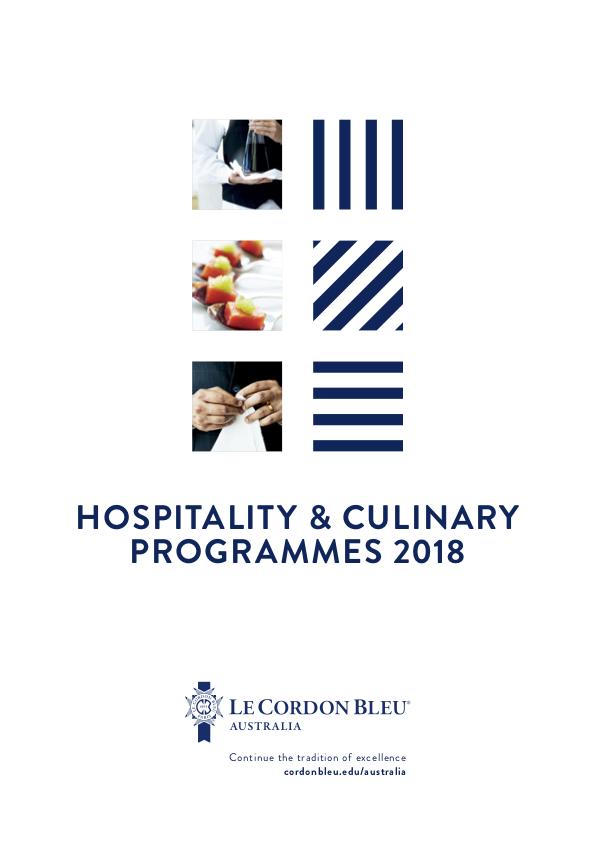 Hospitality & Culinary Programmes