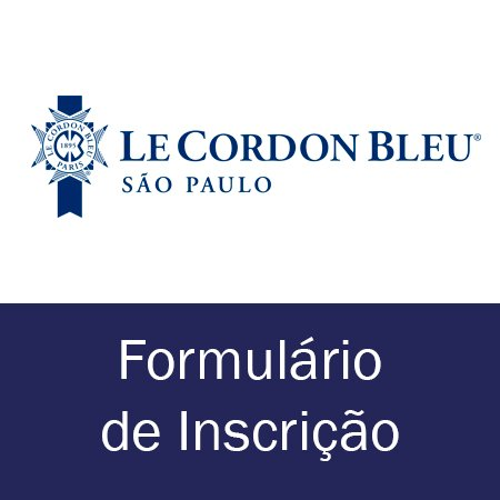 Formulário de Inscrição LCB São Paulo
