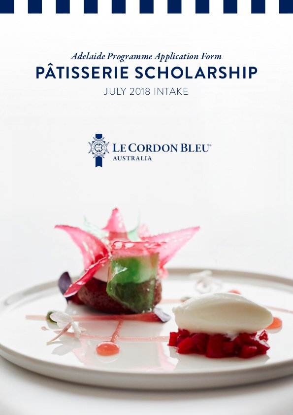 ADHM - Patisserie Scholarship Application Form-ADL