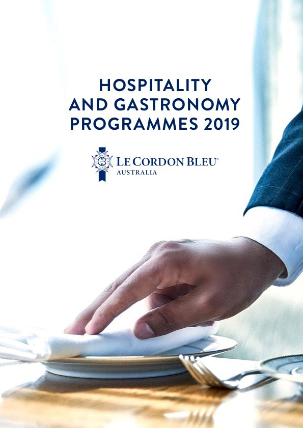 Hospitality and Gastronomy Programmes