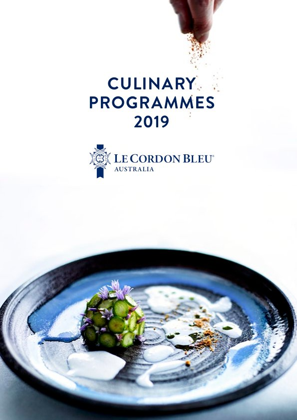 Culinary Programmes 2019