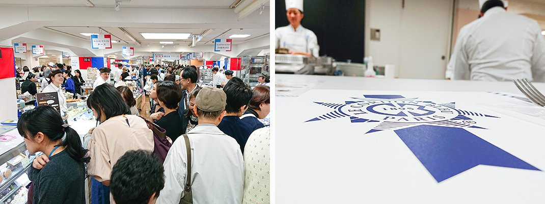 Week-long Pop-up at Mitsukoshi