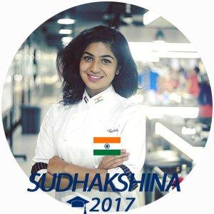 Sudhakshina Shivkumar diplome boulangerie 2017