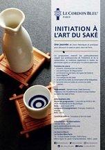 Initiation à l'Art du Saké
