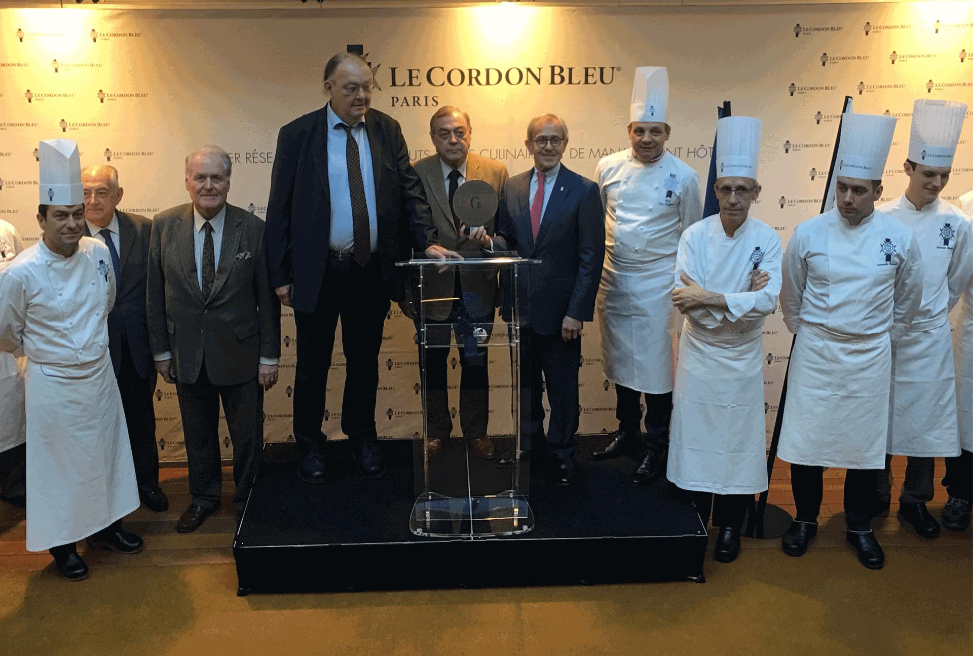 L'institut Le Cordon Bleu récompensé par le Grand Prix de la Culture Gastronomique