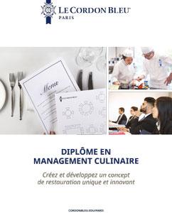 Diplôme en Management Culinaire