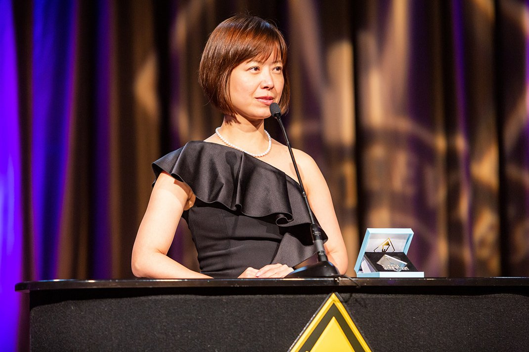 Tokyo Alumna Wins Stevie Award for Women in Business