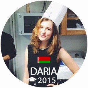 Daria Tartrais Diplome de Cuisine 2015