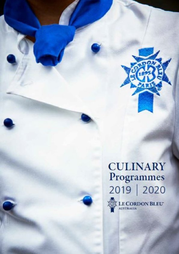 2019 2020 Culinary Programmes Brochure