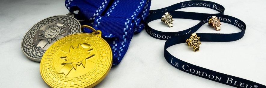 Le Cordon Bleu Medals and Pins
