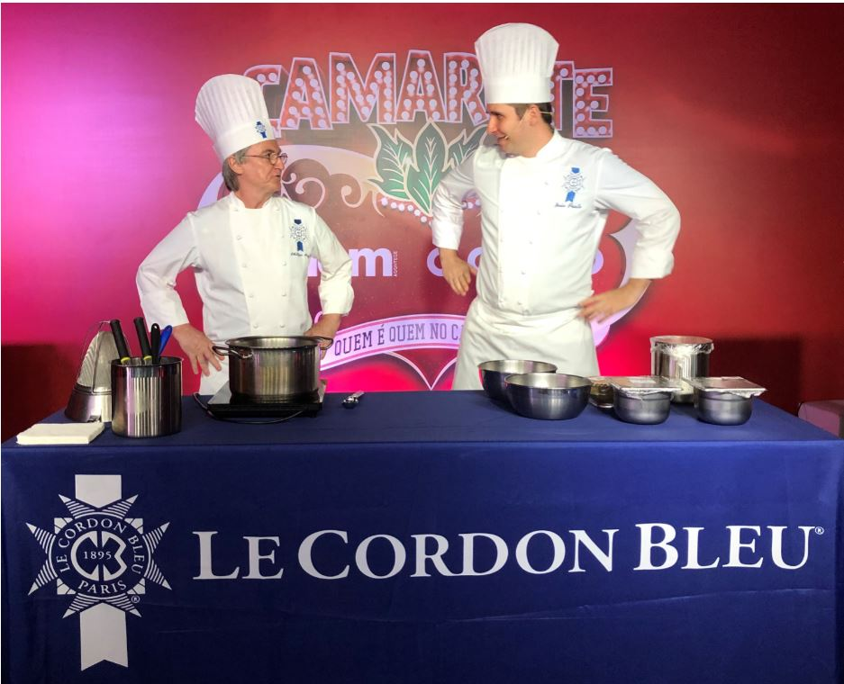 Our Chefs João Paulo and Philippe Brye