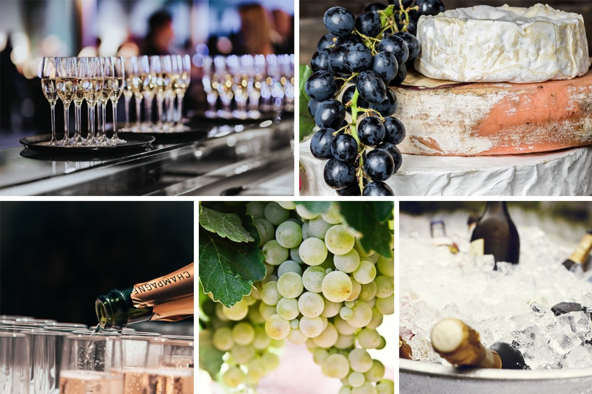 Le Cordon Bleu Adelaide Champagne et Fromage