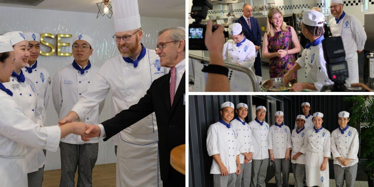 Le Cordon Bleu Brisbane Kitchen Launch