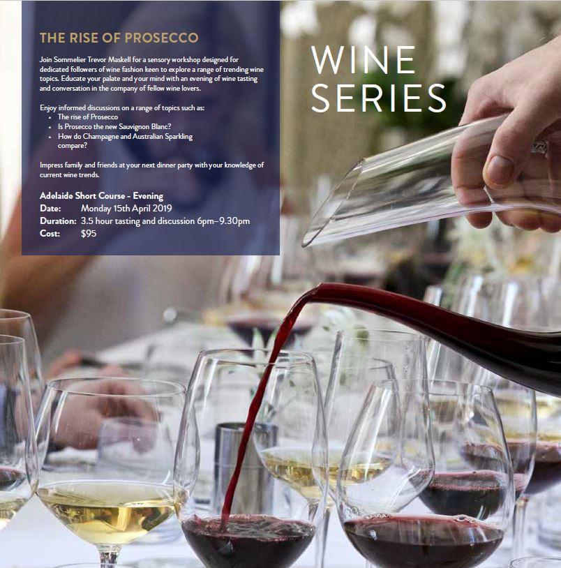 Le Cordon Bleu Adelaide 2019 Wine Serie Brochure