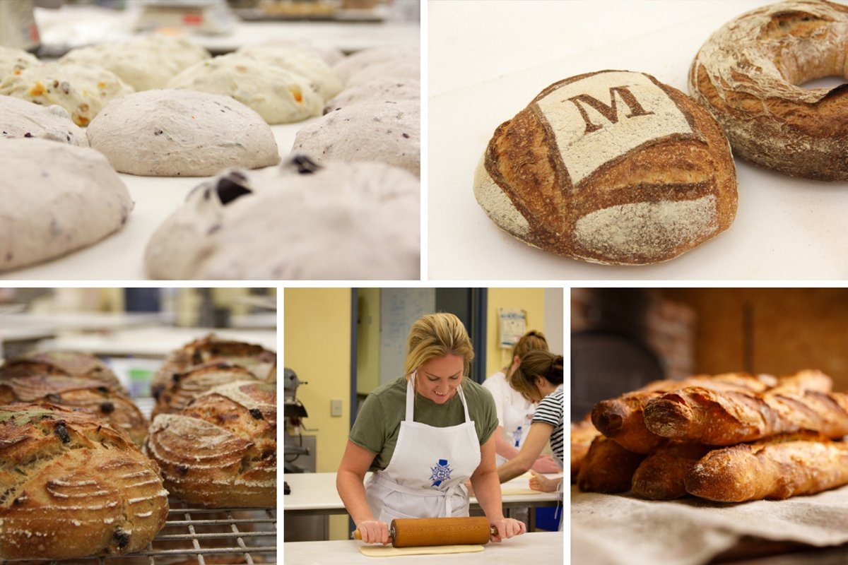 Traditional and Contemporary French Breads Le Cordon Bleu Australia