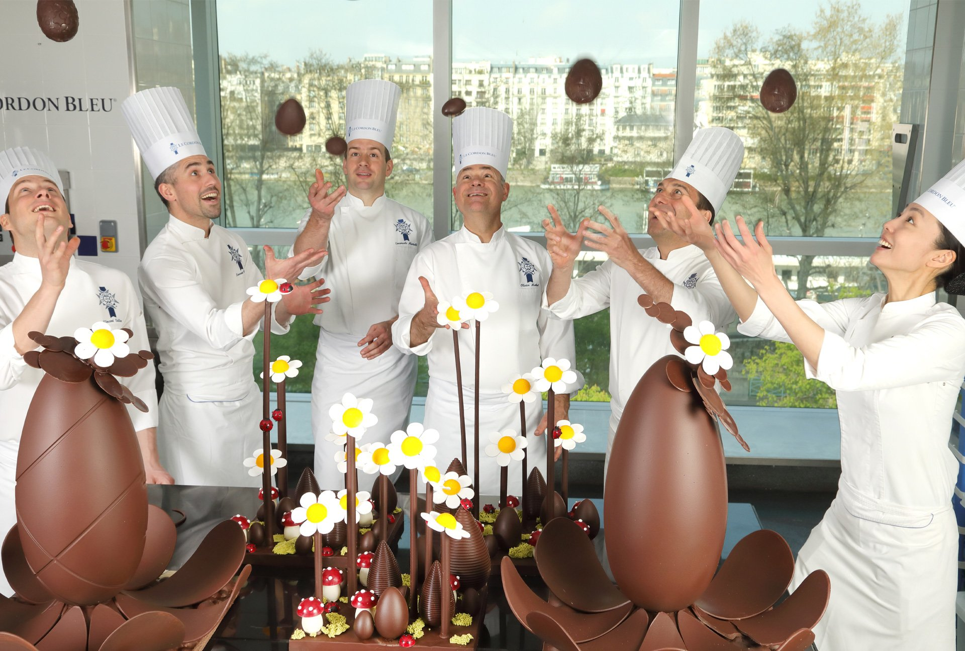 Children celebrate Easter at Beaugrenelle Paris | Le Cordon Bleu Paris