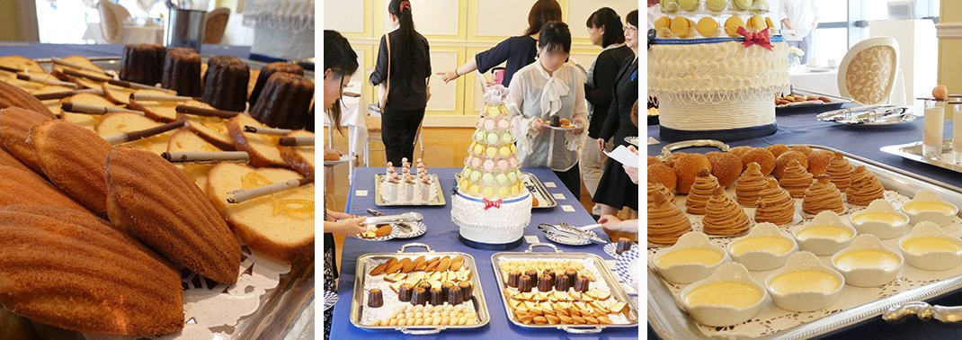 神户校 第一届「甜品铺活动(Salon de Pâtisserie)」