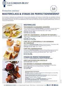 Masterclass et Stages Professionnels