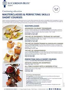 Masterclass and Professional Short Courses
