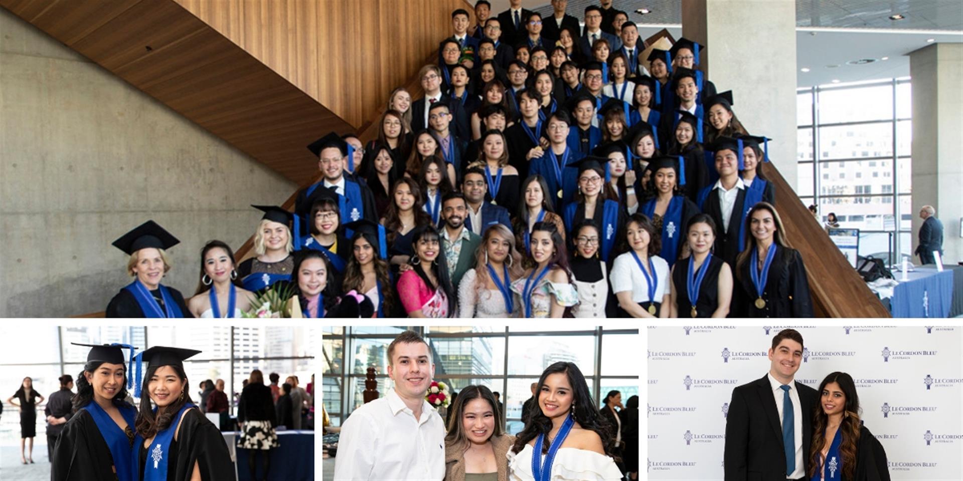 Le Cordon Bleu Sydney graduation