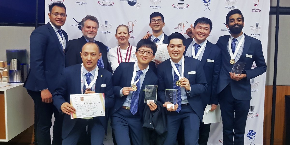 Le Cordon Bleu sydney students win at australian culinary challenge