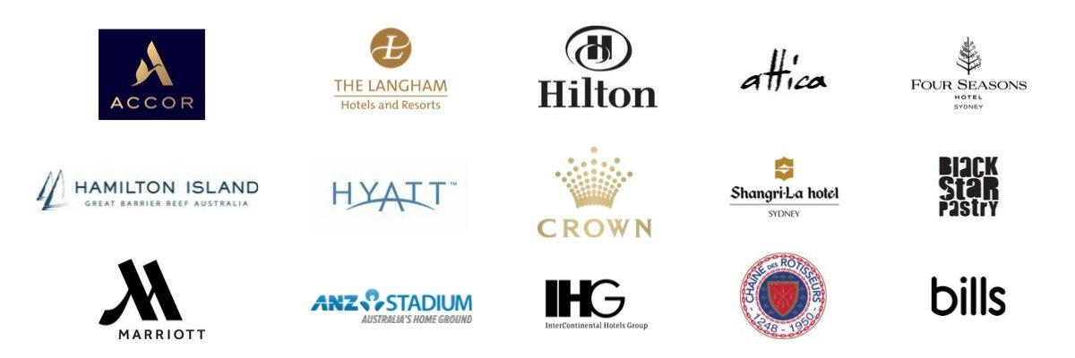 Le Cordon Bleu Australia industry partners