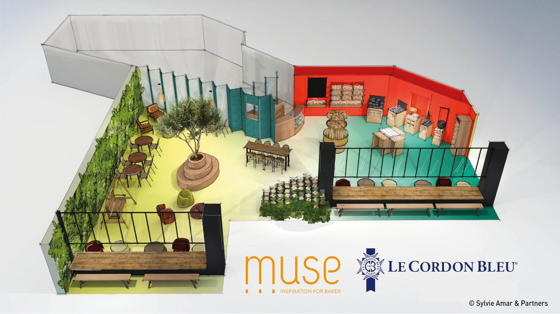 Muse Concept at Europain with Le Cordon Bleu