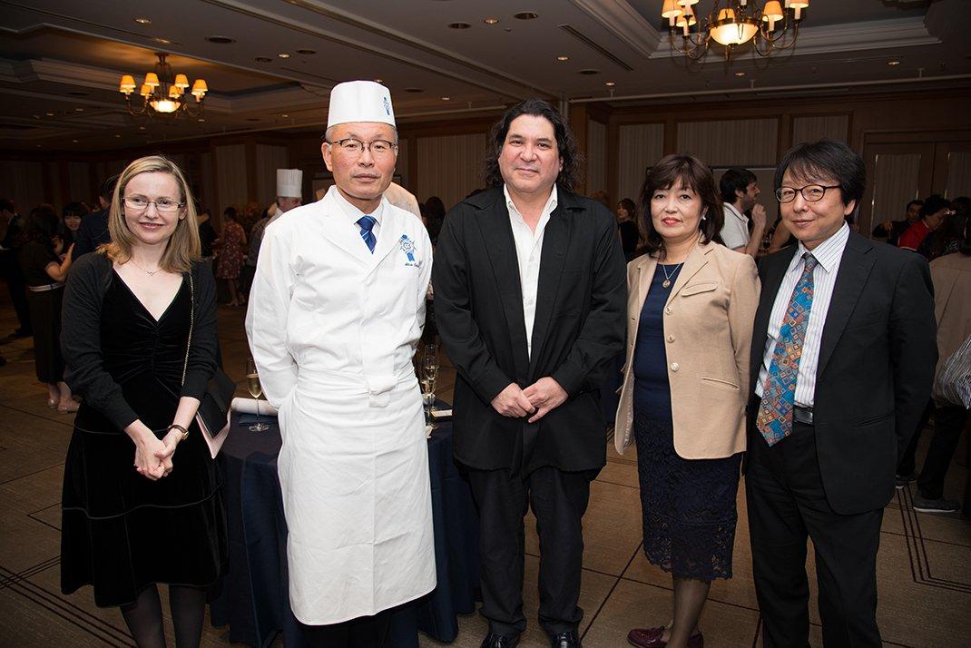 秘鲁名厨Gaston Acurio大驾光临蓝带国际学院东京校毕业典礼
