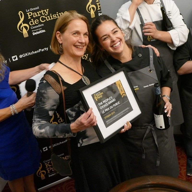 Chef Daniela Manrique - People's Choice Award Winner 2019