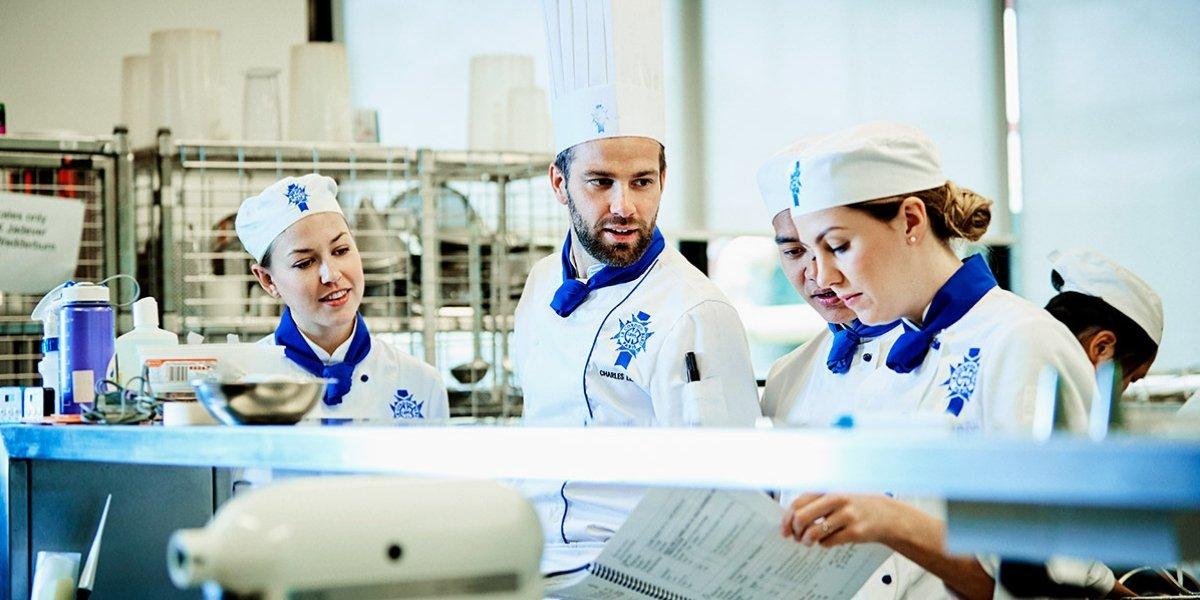Le Cordon Bleu students meet Iconic chef Joan Roca