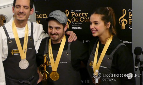 Le Cordon Bleu Ottawa's Signatures Restaurant partnered with Canada's Great Kitchen Party to host the Ottawa/Gatineau Regional Qualifier for the 2020 Canadian Culinary Championships