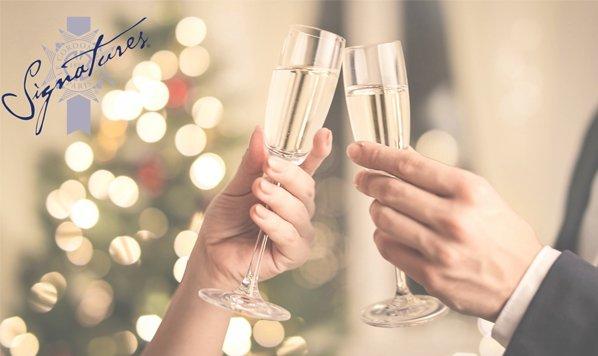 Signatures New Year's Eve Menu