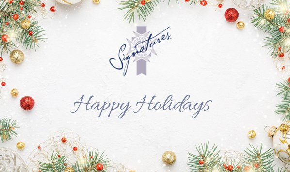 Happy Holidays from Signatures Restaurant