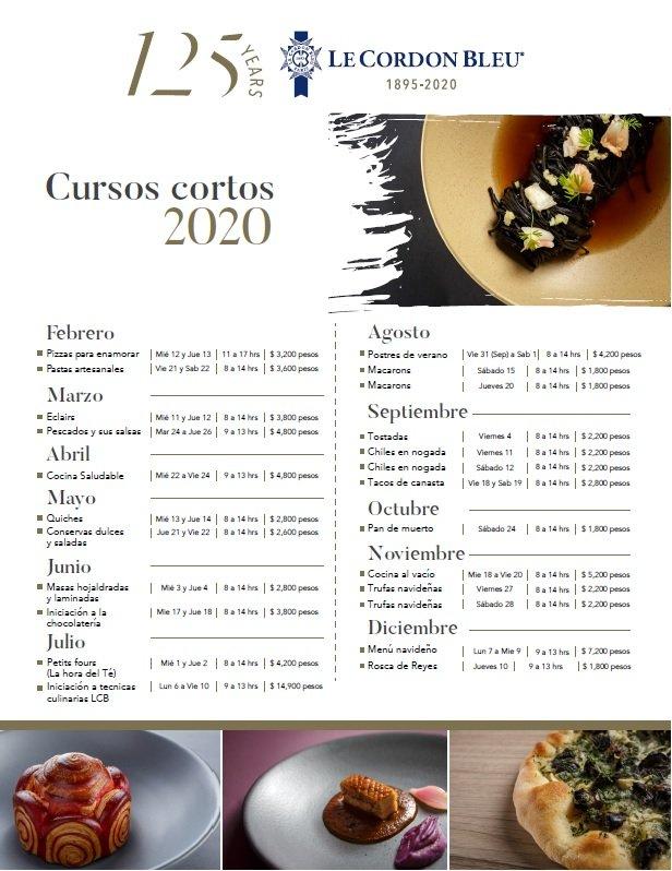 Calendario Módulos y Workshops