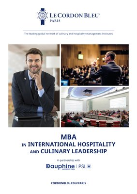 MBA in International Hospitality and Culinary Leadership