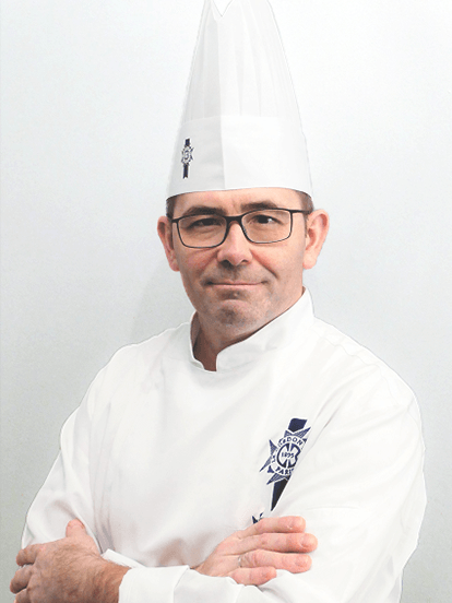 Photo of Le Cordon Bleu Chef Instructor Yann Le Coz