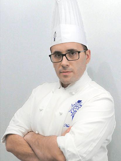 Photo of Le Cordon Bleu Chef Instructor Nicolas Belorgey