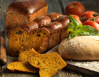 Recipe - Bread with tomato and basil