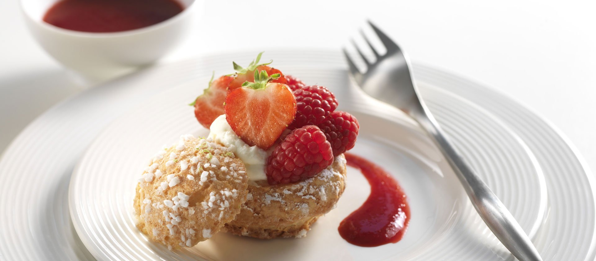 summer berries choux recipe
