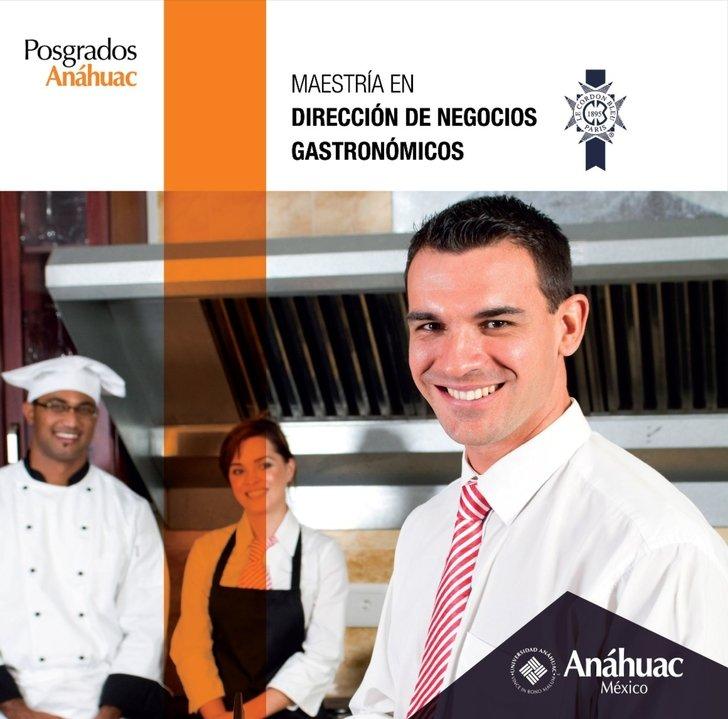 Brochure Maestria en Dirección de Negocios Gastronomicos