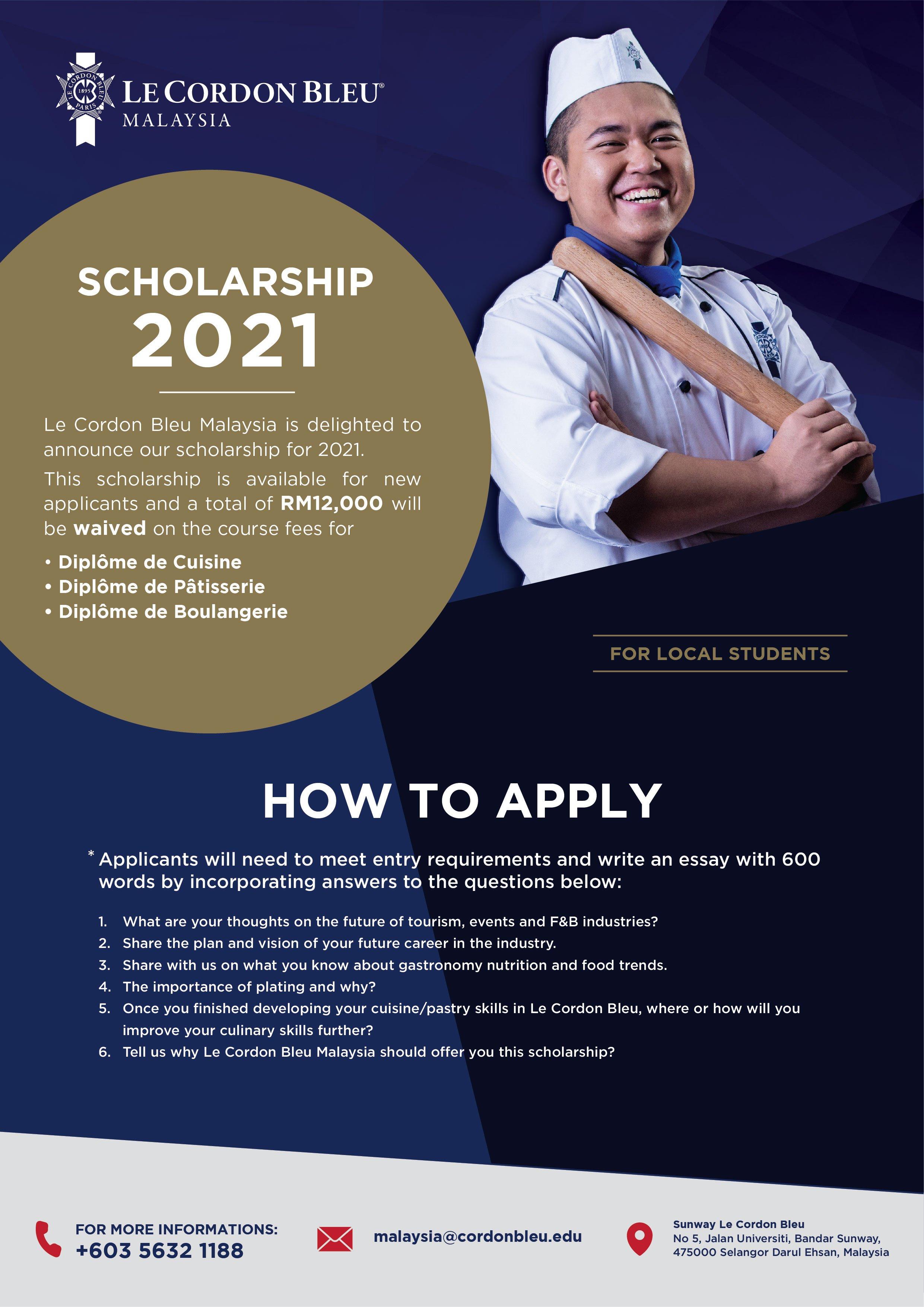Scholarship 2021 (Local)