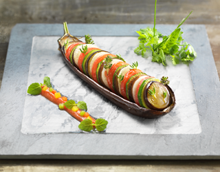 Recipe - Bayaldi style vegetables and Provencal coulis