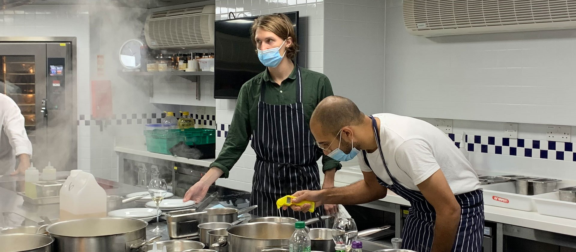 Team Noble Rot in the Kitchen