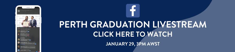 Livestream via Facebook: Le Cordon Bleu Perth Graduation Ceremony