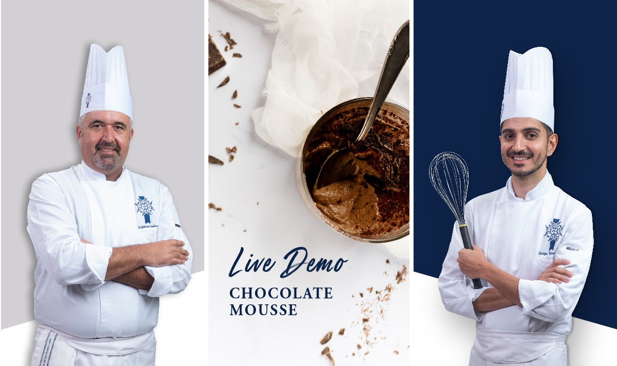 chocolate mousse live demo