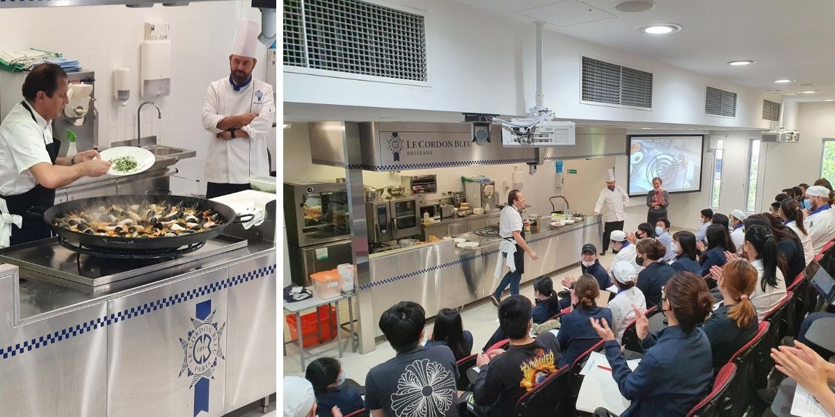 Chef Javier Codina's Catalan Cuisine Masterclass at Le Cordon Bleu Brisbane