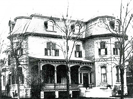 Laurier House, 335 Laurier Avenue East, Ottawa, designed by James Mather in 1878