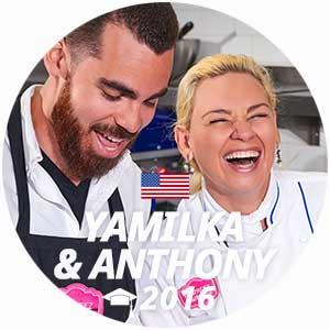 Yamilka&Anthony diplome pâtisserie 2016